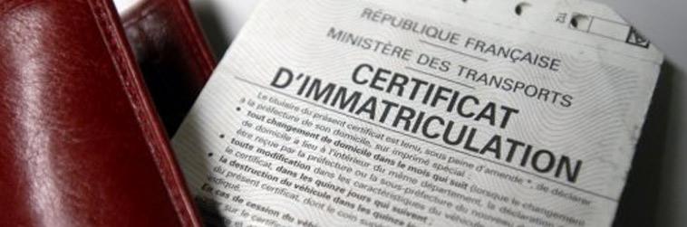 certificat d'mmatriculation en ligne